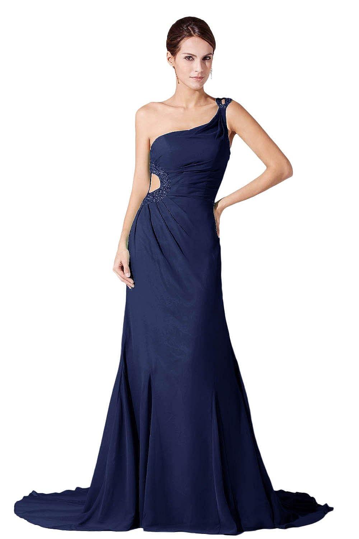 Dressystar Damen Lang Chiffon Abendkleider mit einem ...