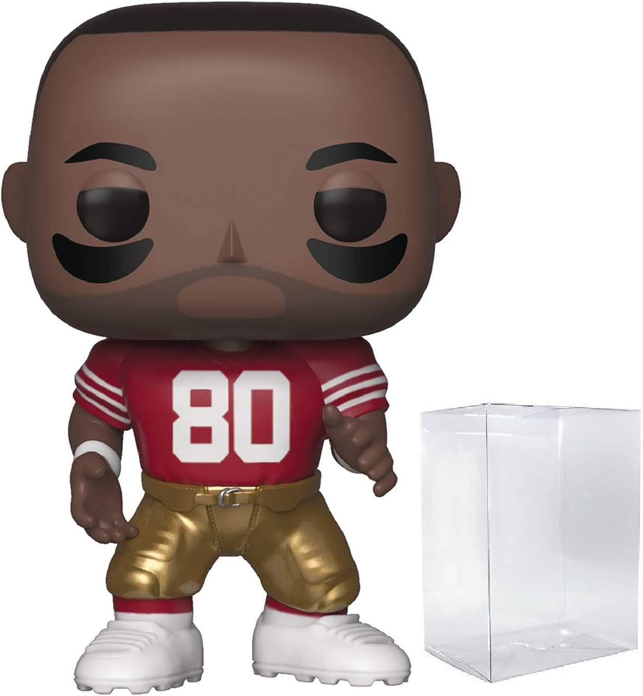 Pop NFL: San Francisco 49ers Pop Home Jersey Includes Compatible Pop Box Protector Case Vinyl Figure Nick Bosa