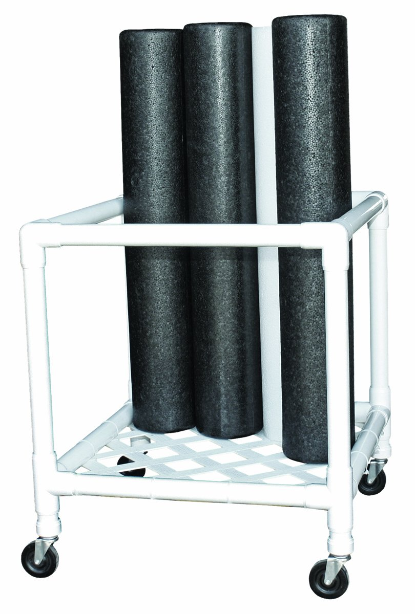 CanDo 30-2181 Foam Roller, Accessory, Upright Storage Rack, 24'' Width x 34'' Diameter x 30'' Height by Cando (Image #1)