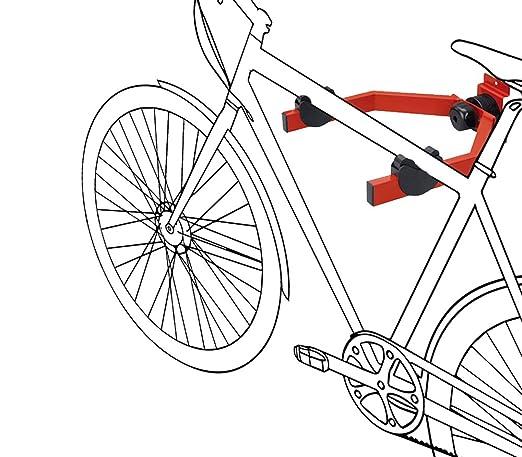2 opinioni per supporto da parete regolabile per bicicletta, fissaggio orizzontale-