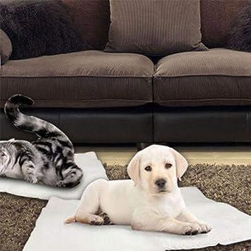 xiaohan - Manta térmica Lavable para Mascotas con calefacción para Perros y Gatos, no eléctrica