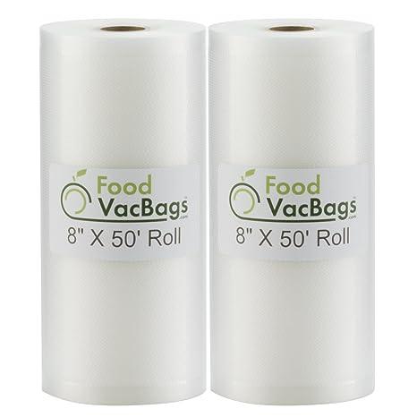 Amazon.com: Oferta FoodVacBags - Dos rollos de bolsas ...