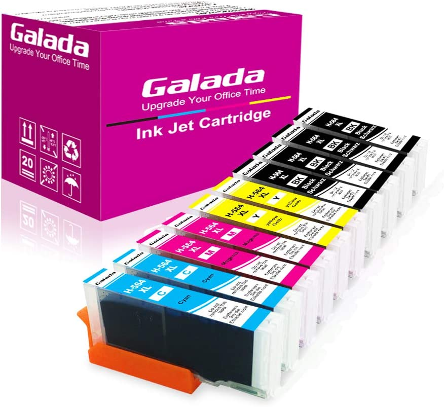 Amazon.com: Galada - Pack de cartuchos de tinta compatibles ...