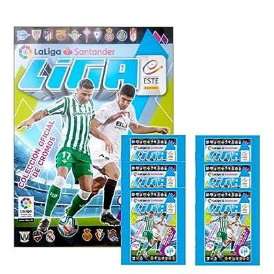 2020-20 Panini La Liga Spanish Premier League Soccer Stickers - Starter Pack - Includes Album & 30 Stickers Look for Messi, Suarez, Bale, Hazard, Griezmann, Felix & More!: Arts, Crafts & Sewing