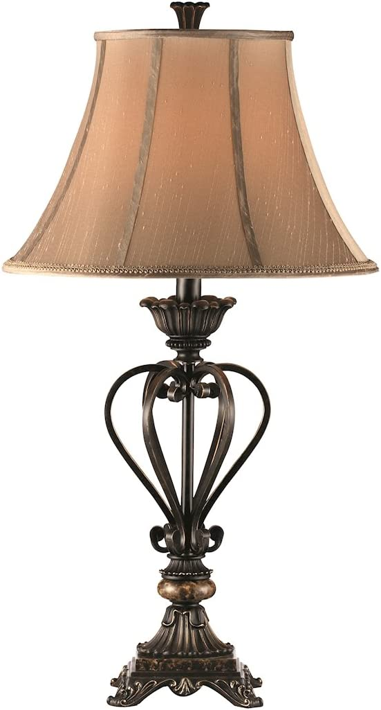 Stein World Furniture Lyon Table Lamp, French Bronze,- 1 quantity
