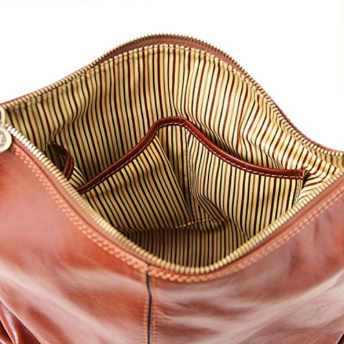 Tuscany Leather Sabrina - Borsa in pelle da donna - TL141479 (Marrone) Rosso Ebay Para La Venta Nuevo Estilo De La Moda De De Descuento En Línea Auténtica Gran Descuento En Línea Nicekicks De Salida uSrX3h0