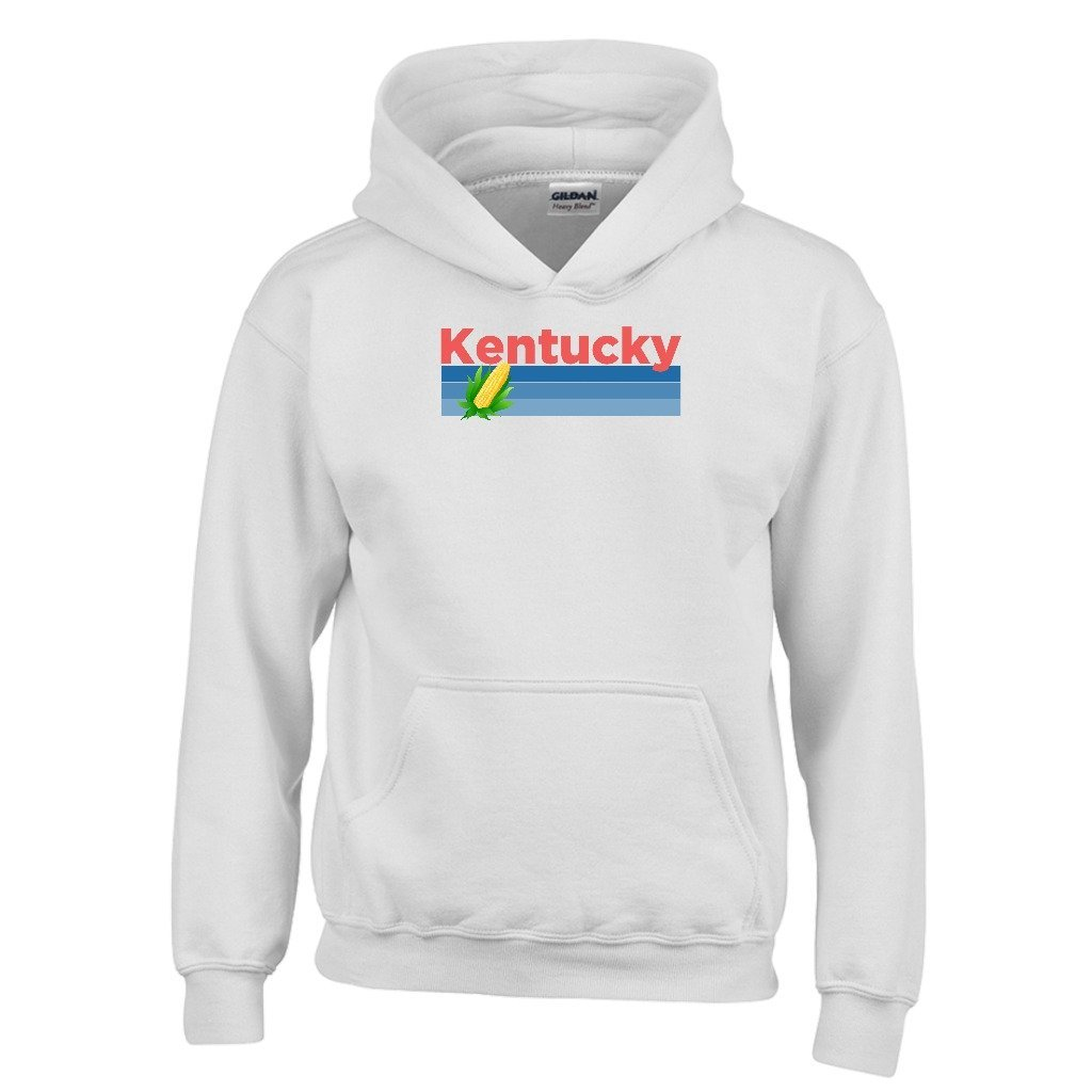 Kentucky Retro Corn /& Farm Youth Hoodie Kids Sweatshirt