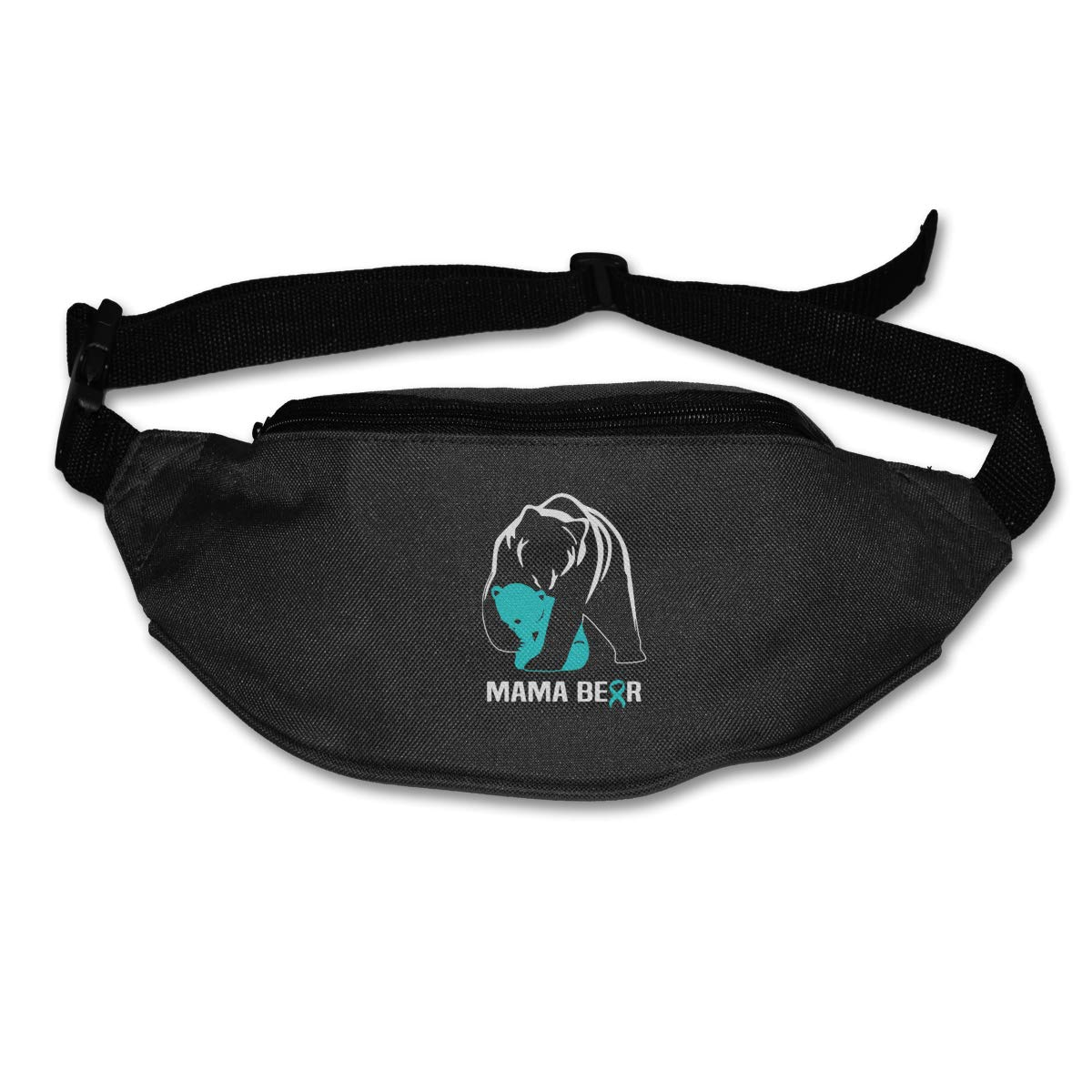 Mom Mama Bear Sport Waist Pack Fanny Pack Adjustable For Travel