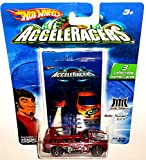 Hot Wheels AcceleRacers Metal Maniacs #6 of 9 - Rollin' Thunder CM6 (6 spoke red version)