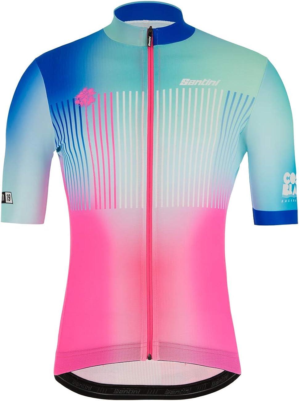 Santini La Vuelta - Costa Blanca 2019 Pantalones Cortos Hombre: Amazon.es: Deportes y aire libre