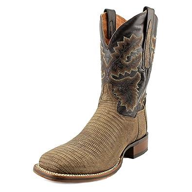 e6d2958604d Dan Post Men's Hurst Lizard Cowboy Square Toe Boots, Leather