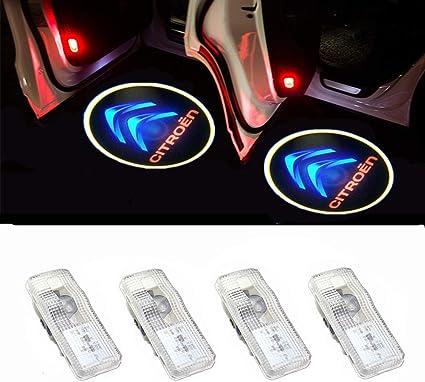Proyección de Coche Proyector LED Puerta Luz Fantasma Sombra Luz ...