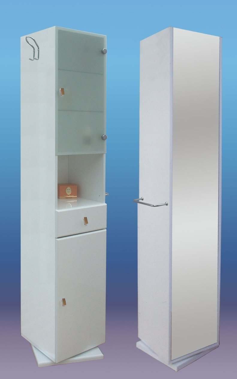 Mobiletto per il bagno mobiletto per il bagno with for Specchio bagno brico