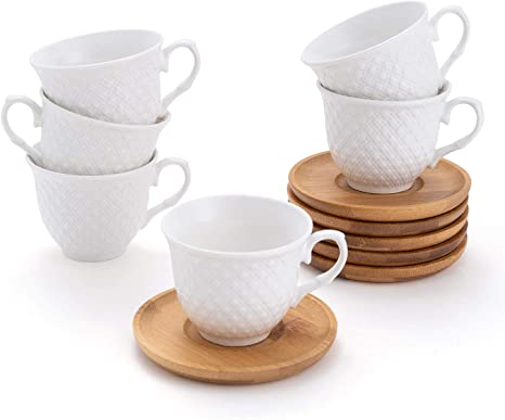 cups/&saucers Details about  /Illy 6oz Coffee// Espresso cup /& Saucer Set of 8 Total
