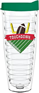 product image for Smile Drinkware USA-TOUCHDOWN 26oz Tritan Insulated Tumbler With Lid and Straw