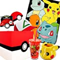 Pokemon Gift Mystery Box with Pokemon Character Fleece Blanket from Toynk
