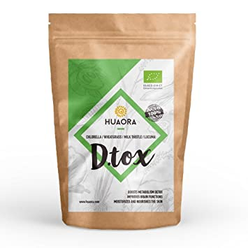 Huaora D.Tox - Repleto de nutrientes para reforzar el sistema inmunitario y cuidar la
