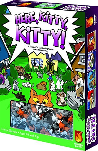 Psi Kitty - Here Kitty Kitty Board Game by Fireside Games