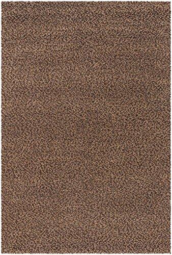 Couristan 5519/5074 Lagash Area Rugs, 2-Feet by 4-Feet, Chocolate (Couristan Chocolate)