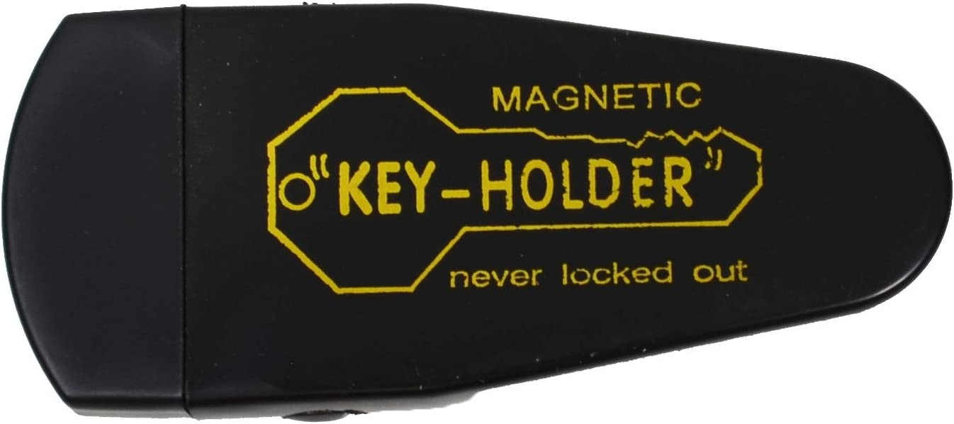 2 Large Plastic Magnetic Key Case Security Spare Key Lock Hide A Key