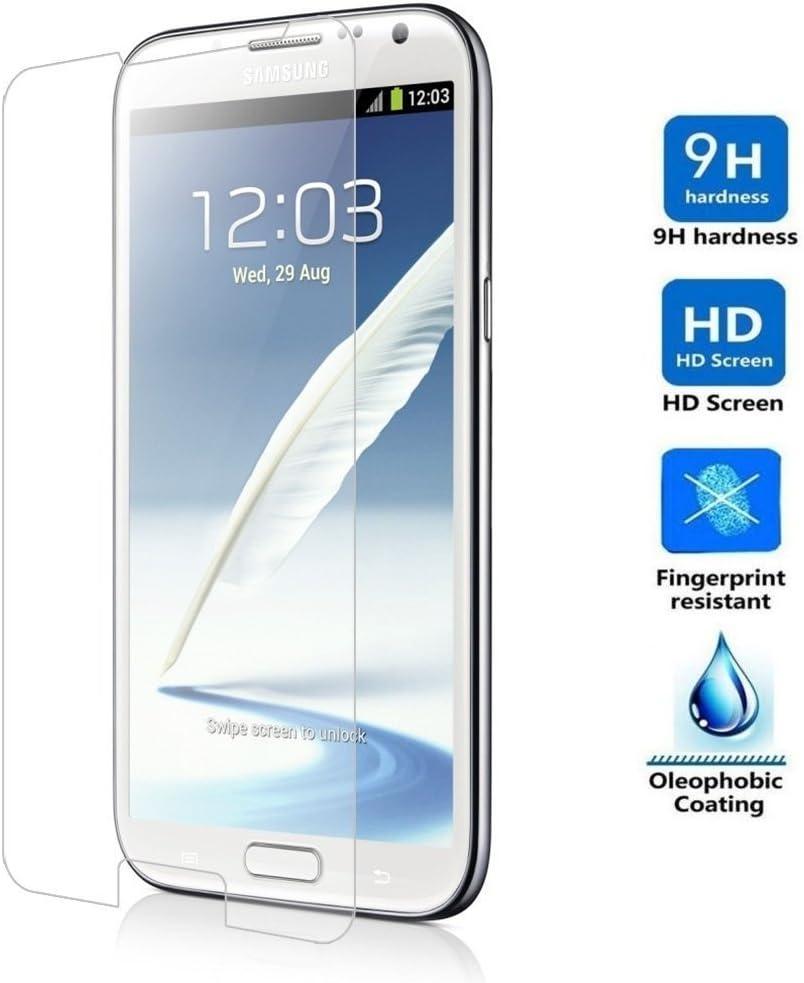 REY Protector de Pantalla para Samsung Galaxy Note 2 Cristal ...