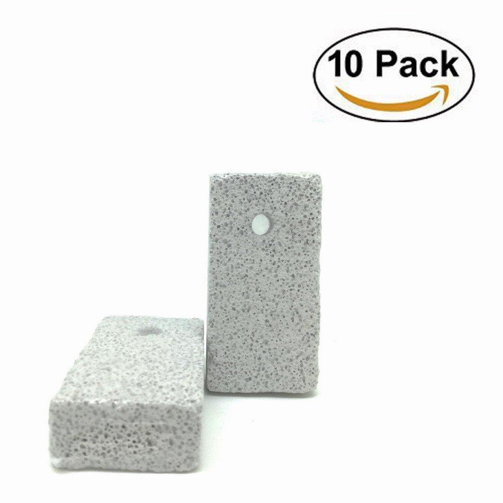 10 Pack Small Animal Lava Bites, Hamster Chew Toys Chew Treats Teeth Grinding Block for Hamster Chinchilla
