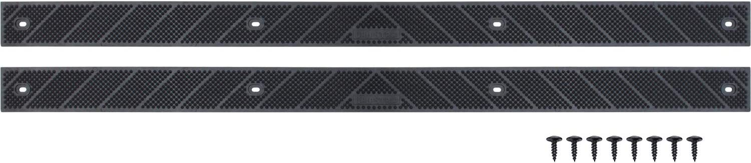 """Step Outdoor for Any Stairs in Your Home or Outdoor Setting 32/""""x 2/"""" Indoor Safety 2 Pack, Black New Grip Strip No Adhesive Tread Tape Anti Non Slip High Traction"""