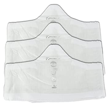 29306aadcca Amazon.com: Soft Bamboo and Cotton Bra Liner (White, 3-Pack, XL ...