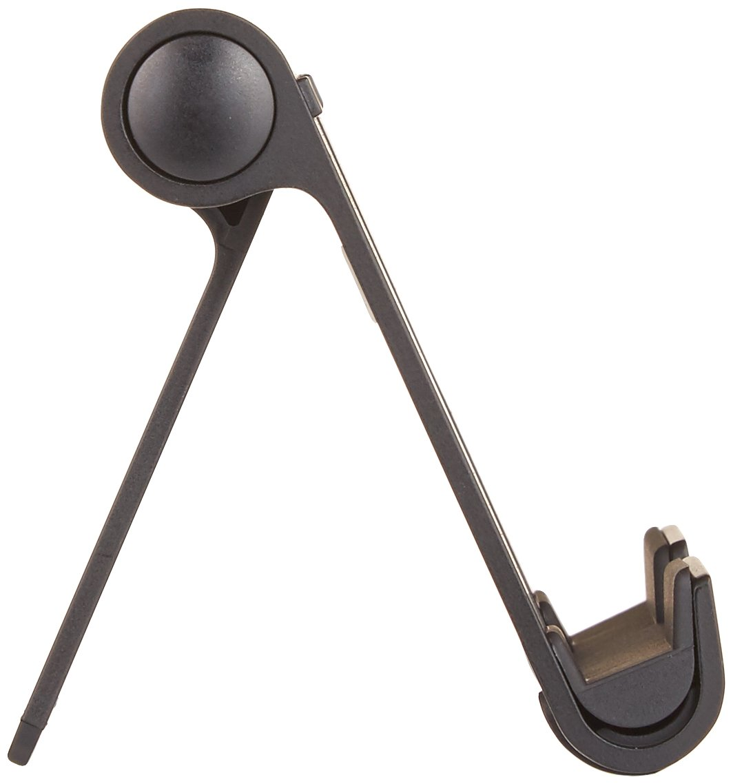 Schwarz E-Reader und Handys Basics Tragbarer St/änder mit verstellbarem Betrachtungswinkel f/ür Tablets