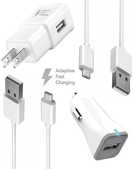 ZTE Blade A512 Cargador rápido Micro USB 2.0 cable Kit por ...