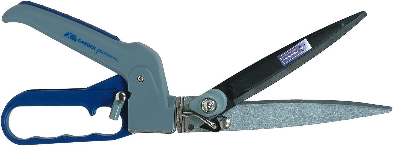 FORBICE ERBA 3 POSIZIONI GIREVOLE LAMA TEFLON regolabile a 360gradi ergonomica Axel