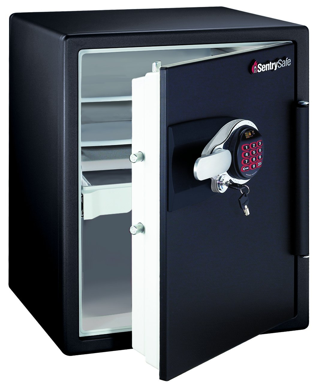 amazoncom sentrysafe ds5781 safe 1hour fireproof electronic safe 2 cubic feet black home improvement - Sentry Safe Models