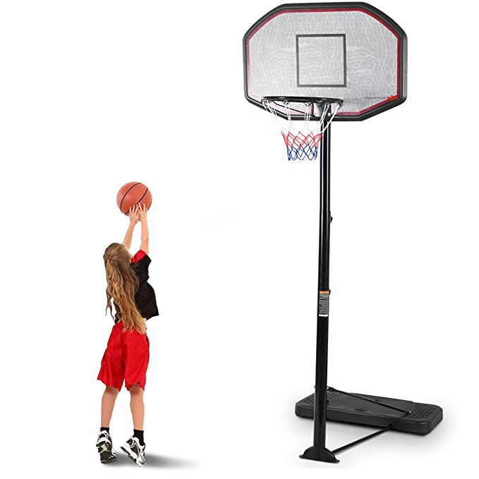 8. Giantex 10FT Portable Basketball Hoop Adjustable Height
