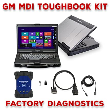 Amazon.com: GM MDI 2 Toughbook Dealer Package Original: Car ...