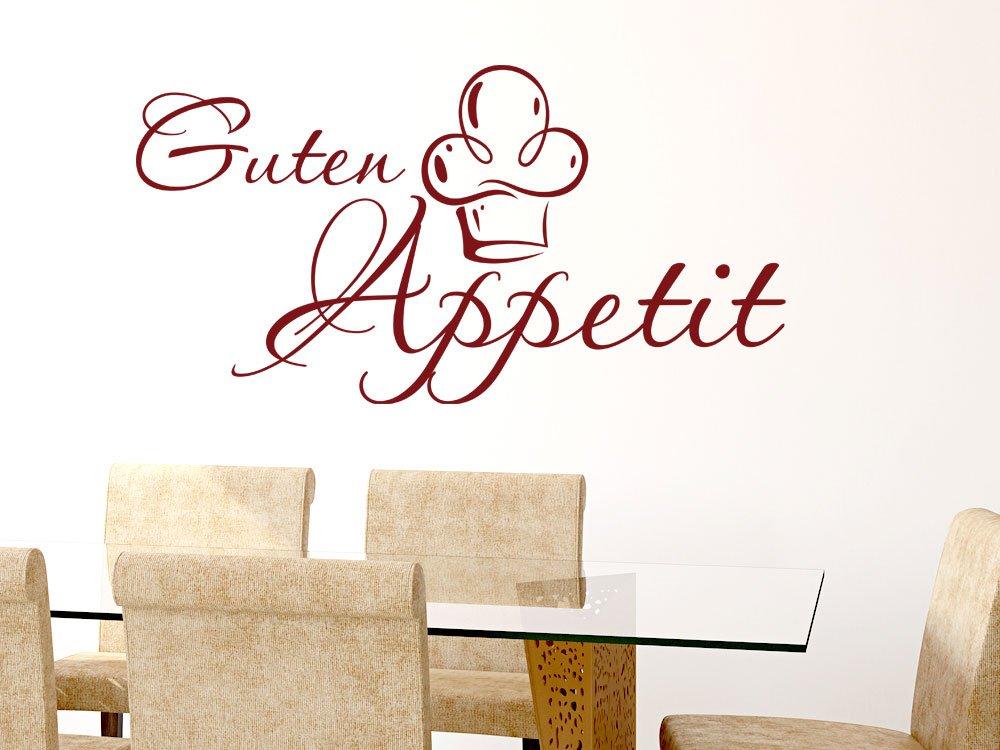 GRAZDesign 620591_30_080 Wandtattoo Küche Guten Appetit mit Mütze ...