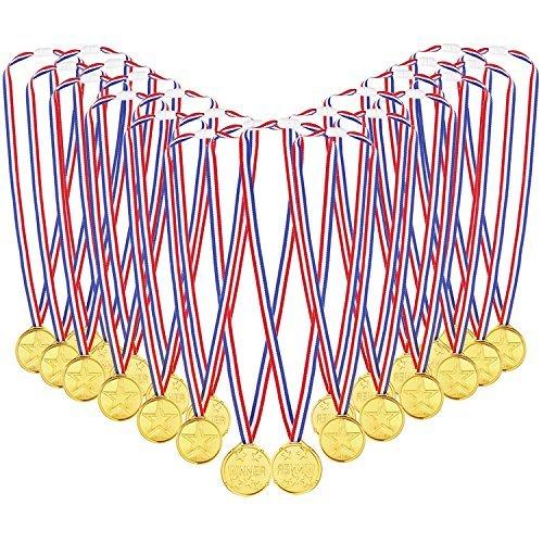 caydo-72-pcs-kids-childrens-gold-plastic-winner-award-medals