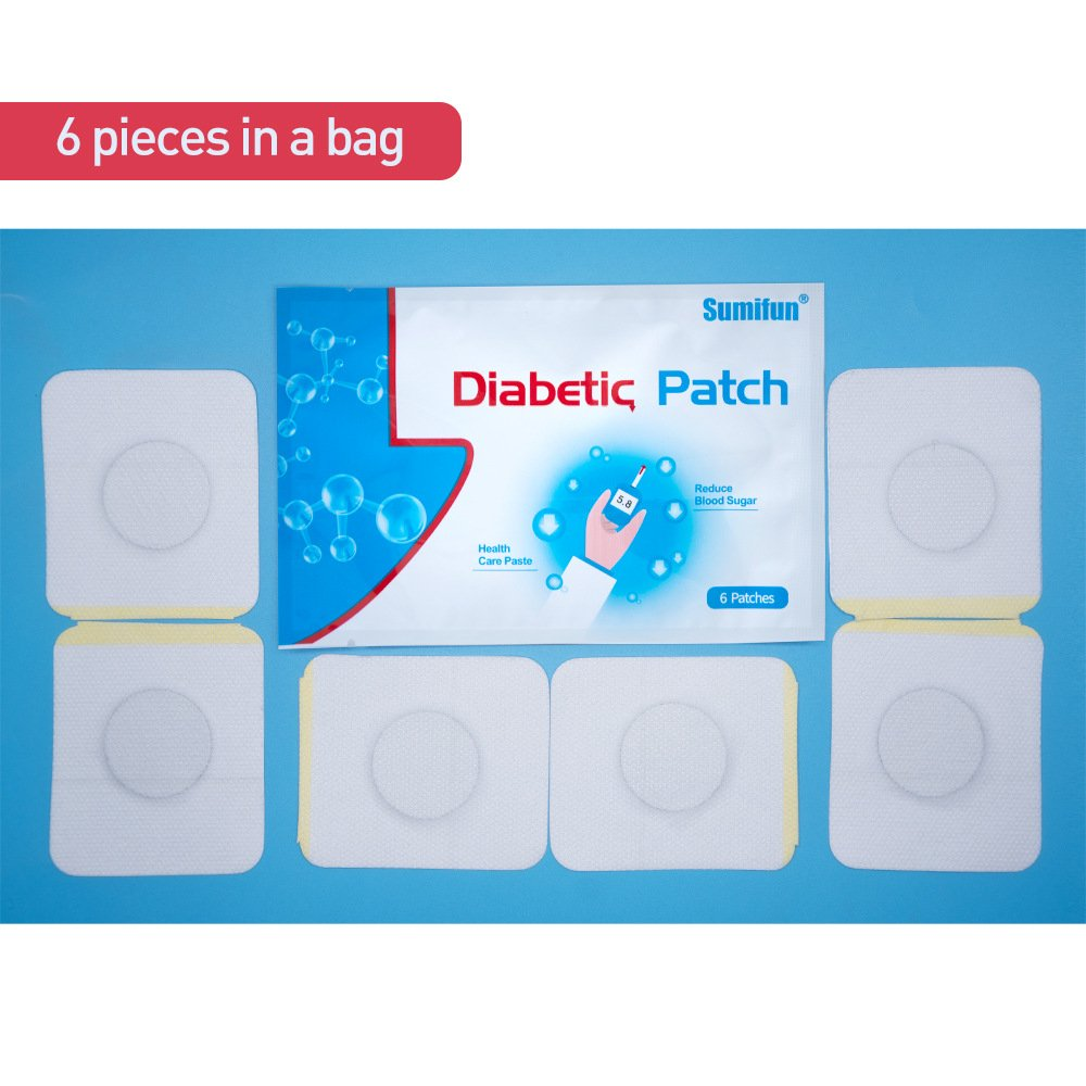 24pcs=4Bags Diabetes Patch Stabilizes Blood Sugar Level Balance Blood Glucose Patch Natural Herbs Diabetes Plaster by Sumifun (Image #3)