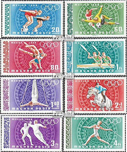 Hungary 2434A-2441A (Complete.Issue.) unmounted Mint/Never hinged 1968 Olympics Summer Mexico 1968 (Stamps for Collectors)