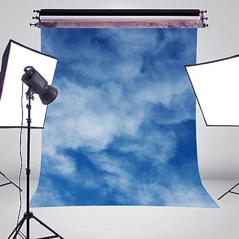 15 X 21 M Bianco Cielo Nuvole Foto Sfondo Fondale Fotografico