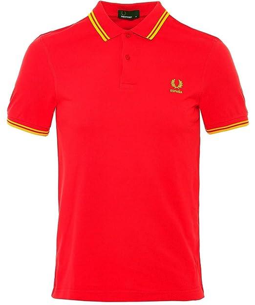 Fred Perry The Country Shirt 2018 España Spain, Polo: Amazon ...