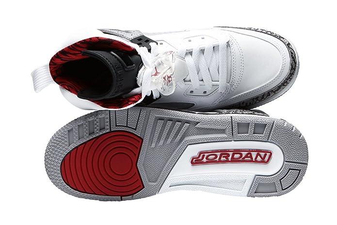 best service f00b1 3503c Amazon.com   Jordan Air Spiz ike (Kids) White   Basketball