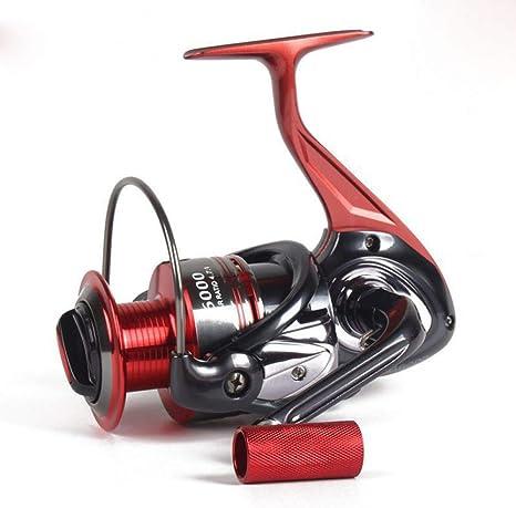 WHFDRHJZ Rueda de Pescado Carrete Todos los carretes de Pesca de Metal Ab1000-7000 Series Spinning Wheel Line Ball12+1 Bearing: Amazon.es: Deportes y aire libre