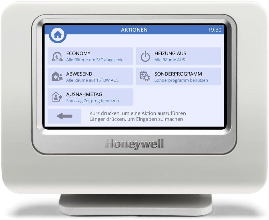 Monitor para control central de calefacci/ón Honeywell evohome THR928SRT
