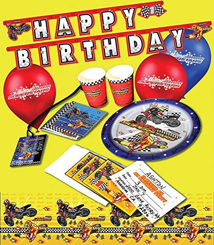 Smooth Industries MX Superstars Birthday Party Invites -