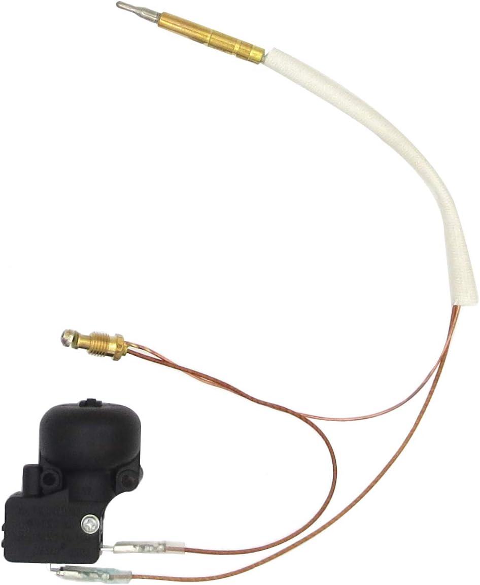 Meter Star CE & CSA Unidad de Calentador de Gas para Patio, Kit de Seguridad, Nuevo Gas propano, Calentador de Patio, Piezas de Repuesto, termoacoplador y Control de Interruptor de Seguridad FD4