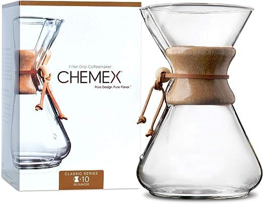 Chemex - Cafetera, 10-Cup: Amazon.es: Hogar