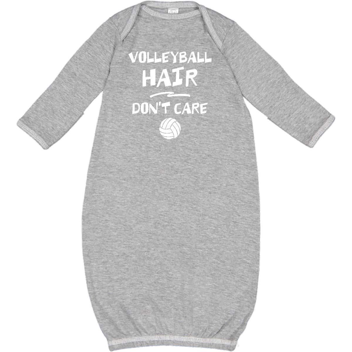 inktastic Volleyball Hair Newborn Layette