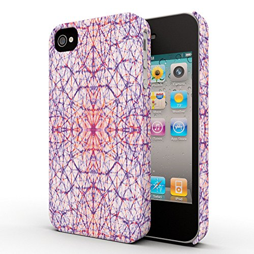 Koveru Back Cover Case for Apple iPhone 4/4S - Cells pattern