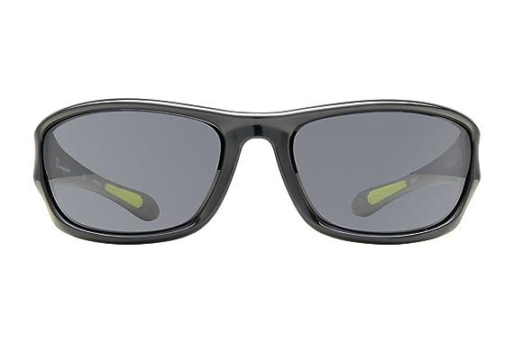 bd8110a4af0 Amazon.com  Champion 6023 Sunglass 64 C01 SHINY BLACK  Clothing