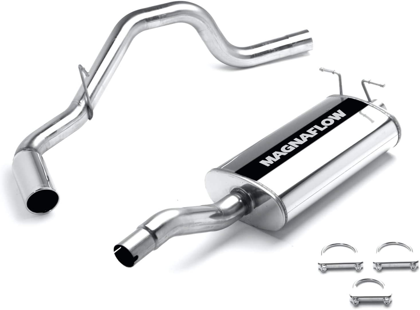 MagnaFlow Exhaust Products 10785 Exhaust Cut-Out Stainless Steel 3/'